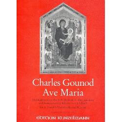 Gounod, Charles Francois: Ave Maria Meditation über das Präludium Nr.1 für 1, 3 und 5 Violoncelli und Klavier
