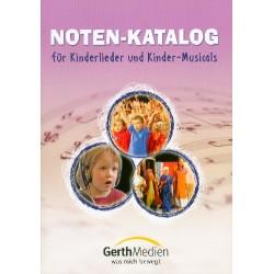 Katalog Kinderlieder, Singspiele, Kindermusicals Gerth 2015
