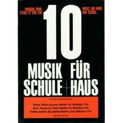 Musik für Schule und Haus Band 10 : für Melodica-Trio Kleine Werke großer Meister