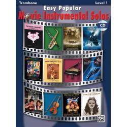Easy popular Movie Instrumental Solos (+CD) : for trombone