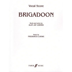 Loewe, Frederick: Brigadoon : vocal score (en)