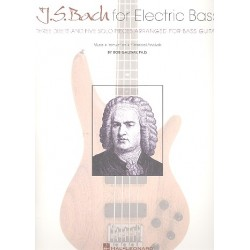 Bach, Johann Sebastian: J. S. Bach for Electric Bass : for bass guitar