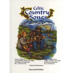 Celtic Country Songs : Lieder und Balladen aus Schottland, Irland und Wales für 2-3 Gitarren