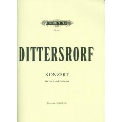 Ditters von Dittersdorf, Karl: Konzert A-Dur für Harfe und Orchester Partitur