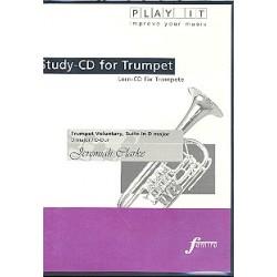Clarke, Jeremiah: Trumpet Voluntary und Suite D-Dur für Trompete und Cembalo Playalong-CD