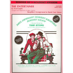 Joplin, Scott: The Entertainer : for piano (simplified)