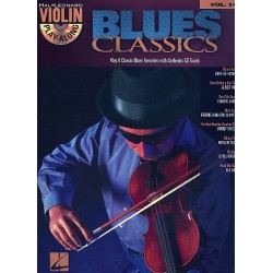 Blues Classics (+CD) : for violin (voice ad lib) violin playalong vol.14