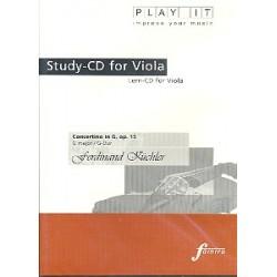 Küchler, Ferdinand: Concertino G-Dur op.15 : für Viola und Klavier Playalong-CD