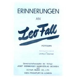 Fall, Leo: Erinnerungen an Leo Fall : f├╝r Klavier (Akkordeon mit Text)