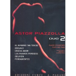 Piazzolla, Astor: Piazzolla vol.2: for flute and piano