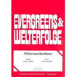Grothe, Franz: Mitternachtsblues : Einzelausgabe für Trompeten und Klavier