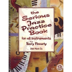 Finnerty, Barry: The serious Jazz Practice Book : for all instruments