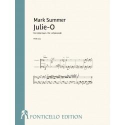 Summer, Mark: Julie-O für 2 Violoncelli Partitur und Stimmen