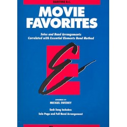 Movie Favorites : for band baritone b.c.