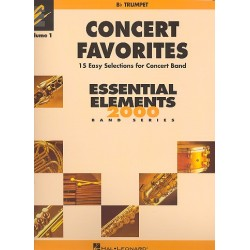 Concert Favorites vol.1 : for concert band trumpet