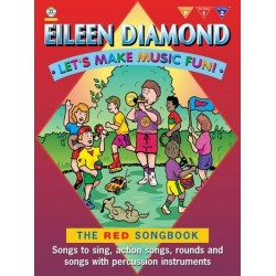 Diamond, Eileen: Let's make Music Fun (+2CDS): The red Songbook