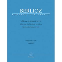 Berlioz, Hector: Lélio oder Die Rückkehr ins Leben : Klavierauszug (fr/dt/en)