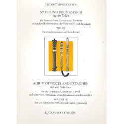 Spiel- und Übungsbuch Band 3 für 2 Instrumente im Oktavabstand Spielpartitur