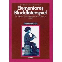 Keetman, Gunild: ELEMENTARES BLOCKFLOETENSPIEL RONNEFELD, M., ED LEHRERBAND