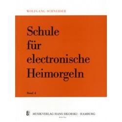 Schneider, Wolfgang: Schule für elektronische Heimorgel Band 4