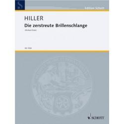 Hiller, Wilfried: Die zerstreute Brillenschlange für Erzähler,Klarinette und Bordun