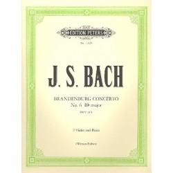 Bach, Johann Sebastian: Brandenburgisches Konzert Nr.6 BWV1051 : für 2 Violen und Klavier