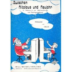 Zwischen Nikolaus und Neujahr Posaune/Cello
