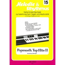Popmusik Top Hits 2 : f├╝r E-Orgel/Keyboard