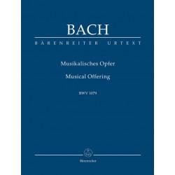 Bach, Johann Sebastian: Musikalisches Opfer BWV1079 Studienpartitur