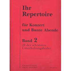 Ihr Repertoire Band 2: 100 volle Gläser Barcarola veneziana