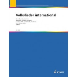 Volkslieder international : Blasinstrument in B (mit 2. Stimme ad lib.)