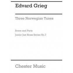 Grieg, Edvard Hagerup: Junior Brass 3 Norwegian Tunes