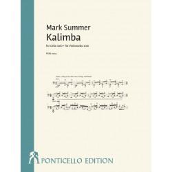 Summer, Mark: Kalimba für Violoncello