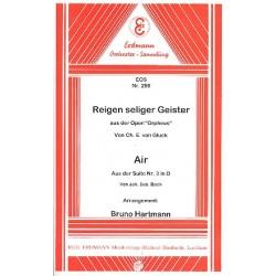 Gluck, Christoph Willibald: Reigen seliger Geister aus Orpheus und Air aus der Suite D-Dur Nr.3: für Salonorchester (Kopie)