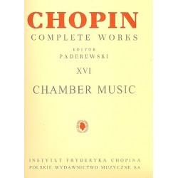 Chopin, Frédéric: Chamber Music