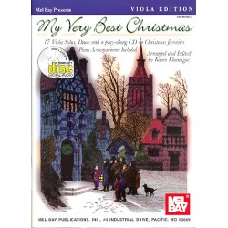 My very best Christmas (+CD) : for 1-2 violas and piano score and parts
