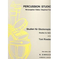 Roeder, Toni: Studien : für Glockenspiel, Cymbales antiques und Röhrenglocken