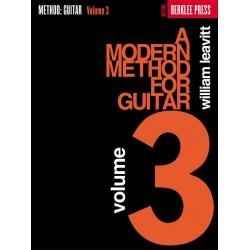 Leavitt, William G.: A modern Method for Guitar vol.3