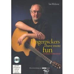 Melrose, Ian: Fingerpickers have more Fun (+DVD): for guitar/tab