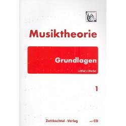 Bierler, Lothar J.: Musiktheorie Grundlagen Band 1 (+CD) :