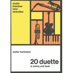 Hartmann, Walter: 20 Duette in Swing und Beat : für Melodie-instrumente