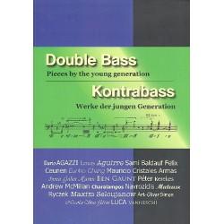 Kontrabass - Werke der jungen Generation (+CD, dt/en)) für Kontrabaß (z.T. mit Klavier)