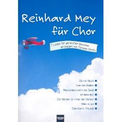 Mey, Reinhard: Reinhard Mey : für gem Chor und Klavier Partitur
