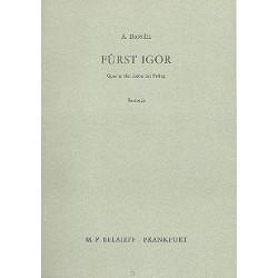 Borodin, Alexander: Fürst Igor : Textbuch (dt)