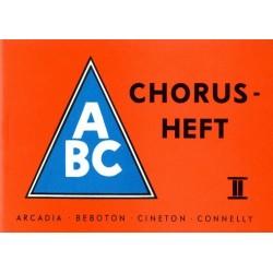 ABC Chorusheft 2 : Melodiestimme mit Texten und Akkorden