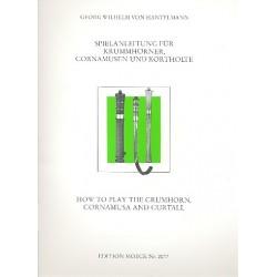 Hantelmann, G. von: Spielanleitung : f├╝r Krummhorn, Cornamuse und Kortholt
