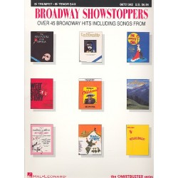 Broadway Showstoppers : 45 Broadway hits for trumpet