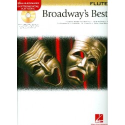 Broadway's Best (+CD) : 15 favorite songs for flute
