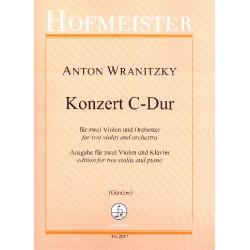 Wranitzky, Anton: Konzert C-Dur für 2 Violen und Orchester : für 2 Violen und Klavier