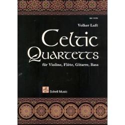 Celtic Quartets : für Violine, Flöte, Gitarre und Bass